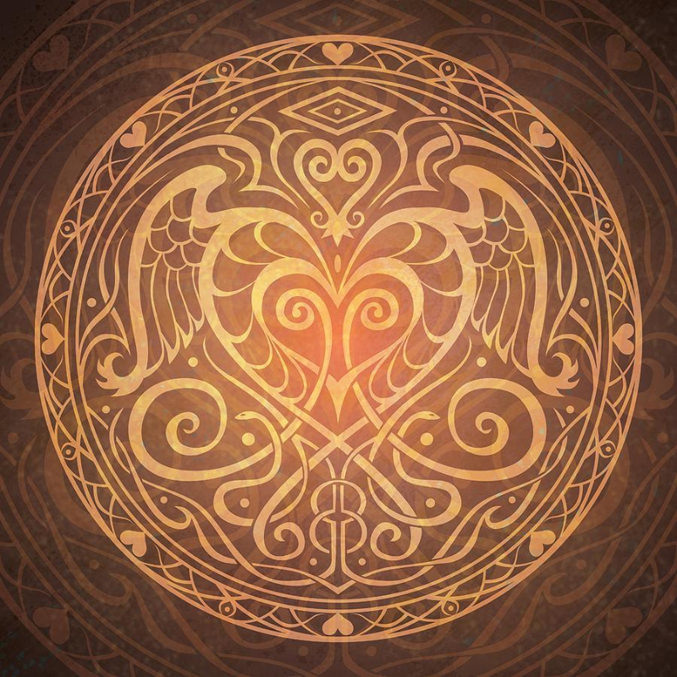 A Deeper Love Artful Hearts For Valentines Day Cosmic Sister