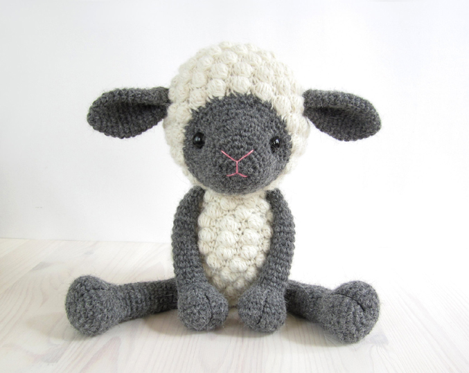 Free Crochet Pattern Baby Lamb : Year of the Lamb for Eco-Mother s Day Cosmic Sister